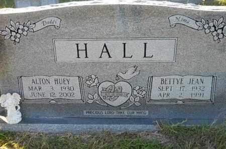 HALL, BETTYE JEAN - De Soto County, Louisiana   BETTYE JEAN HALL - Louisiana Gravestone Photos