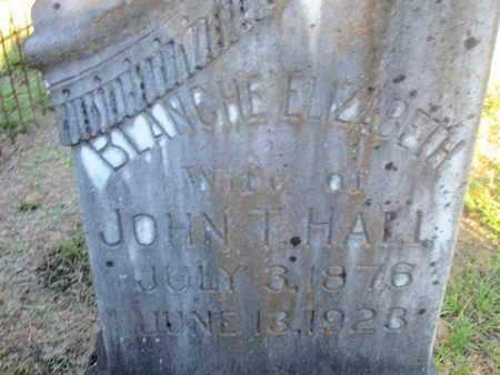 HALL, BLANCH ELIZABETH - De Soto County, Louisiana   BLANCH ELIZABETH HALL - Louisiana Gravestone Photos