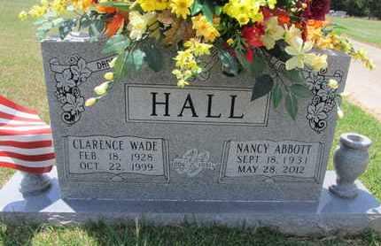 ABBOTT HALL, NANCY - De Soto County, Louisiana   NANCY ABBOTT HALL - Louisiana Gravestone Photos