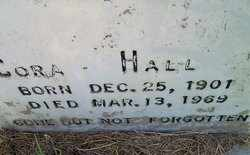 HALL, CORA - De Soto County, Louisiana | CORA HALL - Louisiana Gravestone Photos