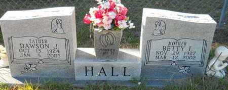 HALL, DAWSON J - De Soto County, Louisiana | DAWSON J HALL - Louisiana Gravestone Photos