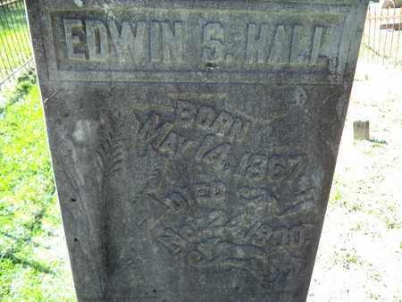 HALL, EDWIN S - De Soto County, Louisiana   EDWIN S HALL - Louisiana Gravestone Photos