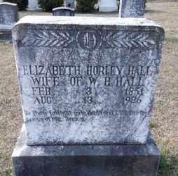 HALL, ELIZABETH - De Soto County, Louisiana | ELIZABETH HALL - Louisiana Gravestone Photos
