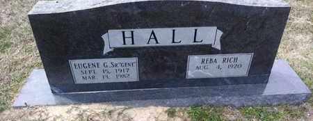 HALL, EUGENE GREGG, SR - De Soto County, Louisiana | EUGENE GREGG, SR HALL - Louisiana Gravestone Photos