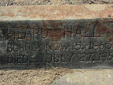 HALL, HEARD - De Soto County, Louisiana | HEARD HALL - Louisiana Gravestone Photos
