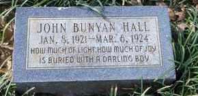 HALL, JOHN BUNYAN - De Soto County, Louisiana | JOHN BUNYAN HALL - Louisiana Gravestone Photos