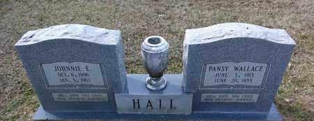 HALL, PANSY - De Soto County, Louisiana | PANSY HALL - Louisiana Gravestone Photos