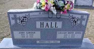 HALL, LILLIAN IRENE - De Soto County, Louisiana   LILLIAN IRENE HALL - Louisiana Gravestone Photos