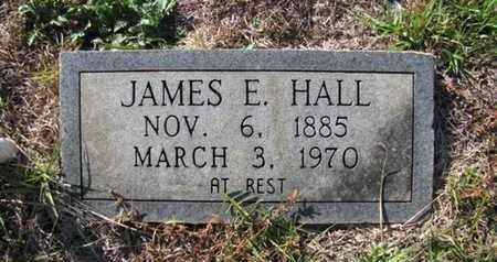 HALL, JAMES E - De Soto County, Louisiana | JAMES E HALL - Louisiana Gravestone Photos