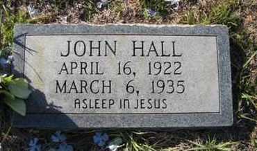 HALL, JOHN - De Soto County, Louisiana | JOHN HALL - Louisiana Gravestone Photos