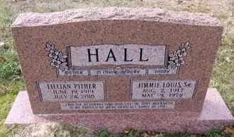 HALL, JIMMIE LOUIS, SR - De Soto County, Louisiana | JIMMIE LOUIS, SR HALL - Louisiana Gravestone Photos