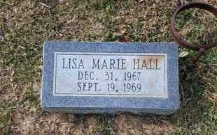 HALL, LISA MARIE - De Soto County, Louisiana   LISA MARIE HALL - Louisiana Gravestone Photos