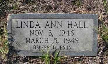 HALL, LINDA ANN - De Soto County, Louisiana | LINDA ANN HALL - Louisiana Gravestone Photos