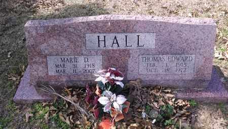 HALL, MARIE - De Soto County, Louisiana | MARIE HALL - Louisiana Gravestone Photos