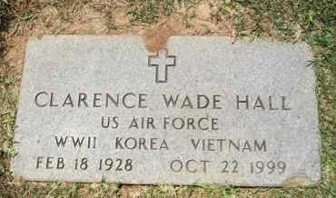 HALL, CLARENCE WADE (VETERAN 3 WARS) - De Soto County, Louisiana | CLARENCE WADE (VETERAN 3 WARS) HALL - Louisiana Gravestone Photos