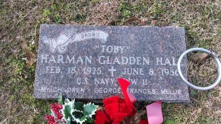 HALL, HARMAN GLADDEN (VETERAN WWII) - De Soto County, Louisiana   HARMAN GLADDEN (VETERAN WWII) HALL - Louisiana Gravestone Photos
