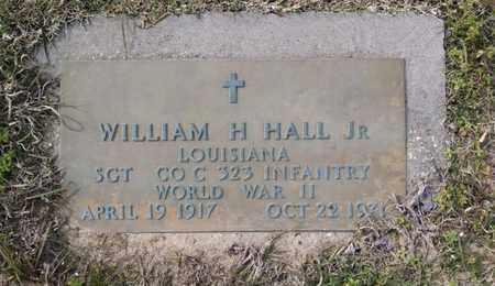 HALL, WILLIAM H, JR (VETERAN WWII) - De Soto County, Louisiana   WILLIAM H, JR (VETERAN WWII) HALL - Louisiana Gravestone Photos