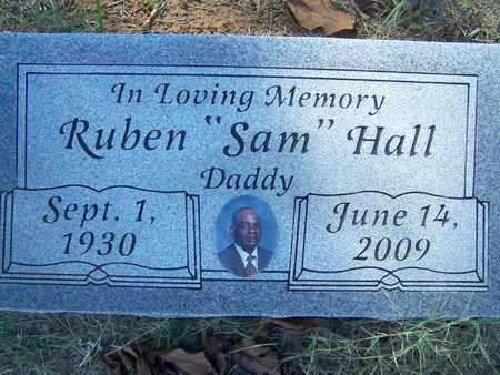 HALL, RUBEN  SAM - De Soto County, Louisiana | RUBEN  SAM HALL - Louisiana Gravestone Photos
