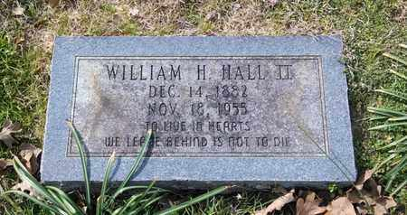 HALL, WILLIAM H, II - De Soto County, Louisiana   WILLIAM H, II HALL - Louisiana Gravestone Photos
