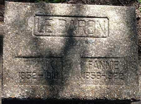 GRAVES LABARON, FANNIE J - De Soto County, Louisiana | FANNIE J GRAVES LABARON - Louisiana Gravestone Photos