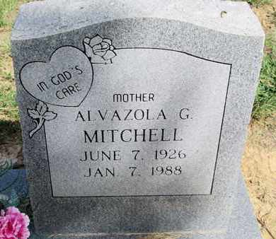 MITCHELL, ALVAZOLA G - De Soto County, Louisiana | ALVAZOLA G MITCHELL - Louisiana Gravestone Photos