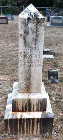 NORWOOD, GEORGE A - De Soto County, Louisiana   GEORGE A NORWOOD - Louisiana Gravestone Photos