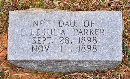 PARKER, INFANT DAUGHTER - De Soto County, Louisiana | INFANT DAUGHTER PARKER - Louisiana Gravestone Photos