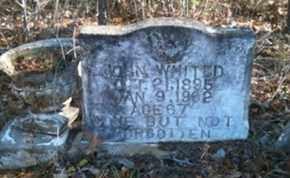 WHITED, JOHN - De Soto County, Louisiana   JOHN WHITED - Louisiana Gravestone Photos