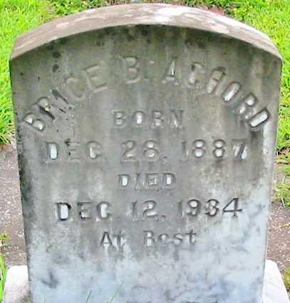 ACHORD, BRICE B - East Baton Rouge County, Louisiana | BRICE B ACHORD - Louisiana Gravestone Photos