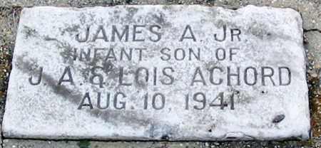 ACHORD, JAMES A, JR - East Baton Rouge County, Louisiana | JAMES A, JR ACHORD - Louisiana Gravestone Photos