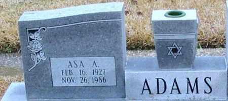 ADAMS, ASA A - East Baton Rouge County, Louisiana | ASA A ADAMS - Louisiana Gravestone Photos