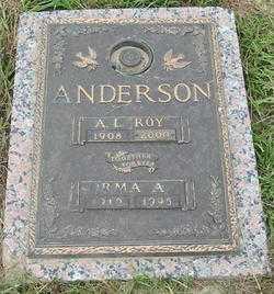 "ANDERSON, ALBERT LEROY ""ROY"" - East Baton Rouge County, Louisiana | ALBERT LEROY ""ROY"" ANDERSON - Louisiana Gravestone Photos"
