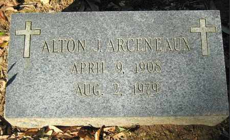 ARCENEAUX, ALTON J - East Baton Rouge County, Louisiana   ALTON J ARCENEAUX - Louisiana Gravestone Photos