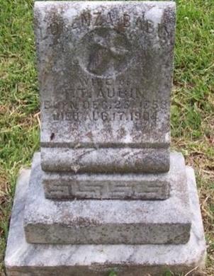 AUBIN, LORENZA - East Baton Rouge County, Louisiana | LORENZA AUBIN - Louisiana Gravestone Photos