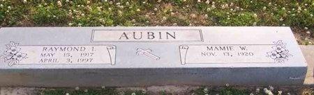 AUBIN, MAMIE ELIZABETH - East Baton Rouge County, Louisiana | MAMIE ELIZABETH AUBIN - Louisiana Gravestone Photos