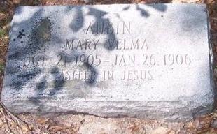 AUBIN, MARY VELMA - East Baton Rouge County, Louisiana | MARY VELMA AUBIN - Louisiana Gravestone Photos