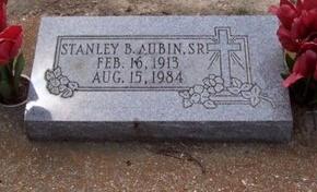 AUBIN, STANLEY B, SR - East Baton Rouge County, Louisiana | STANLEY B, SR AUBIN - Louisiana Gravestone Photos