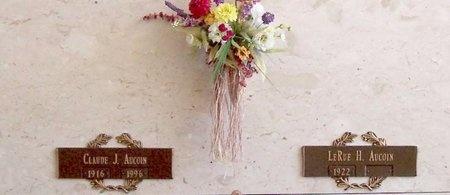 AUCOIN, CLAUDE J - East Baton Rouge County, Louisiana | CLAUDE J AUCOIN - Louisiana Gravestone Photos