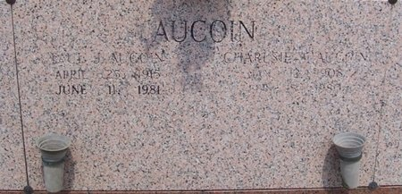 AUCOIN, CHARLSIE W - East Baton Rouge County, Louisiana | CHARLSIE W AUCOIN - Louisiana Gravestone Photos