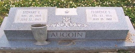 AUCOIN, FLORENCE - East Baton Rouge County, Louisiana | FLORENCE AUCOIN - Louisiana Gravestone Photos