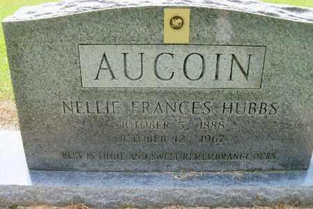 AUCOIN, NELLIE FRANCES - East Baton Rouge County, Louisiana | NELLIE FRANCES AUCOIN - Louisiana Gravestone Photos