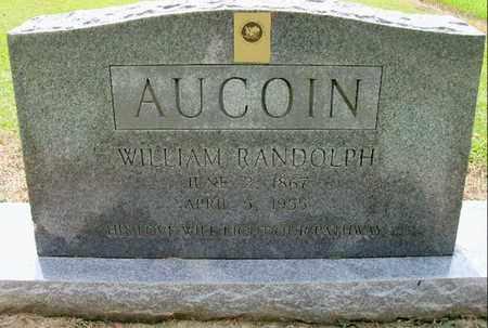 AUCOIN, WILLIAM RANDOLPH - East Baton Rouge County, Louisiana   WILLIAM RANDOLPH AUCOIN - Louisiana Gravestone Photos