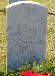 CHRISTOPHER BAILEY, VERNELL - East Baton Rouge County, Louisiana | VERNELL CHRISTOPHER BAILEY - Louisiana Gravestone Photos