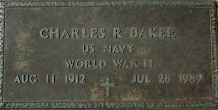 BAKER, CHARLES R  (VETERAN WWII) - East Baton Rouge County, Louisiana | CHARLES R  (VETERAN WWII) BAKER - Louisiana Gravestone Photos