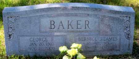 BAKER, GEORGE F - East Baton Rouge County, Louisiana | GEORGE F BAKER - Louisiana Gravestone Photos