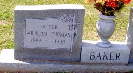 BAKER, WILBURN THOMAS - East Baton Rouge County, Louisiana   WILBURN THOMAS BAKER - Louisiana Gravestone Photos