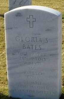 BATES, GLORIA - East Baton Rouge County, Louisiana | GLORIA BATES - Louisiana Gravestone Photos