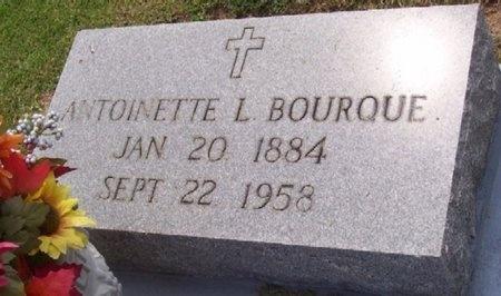 BOURQUE, MARIE ANTOINETTE (CLOSE UP) - East Baton Rouge County, Louisiana   MARIE ANTOINETTE (CLOSE UP) BOURQUE - Louisiana Gravestone Photos