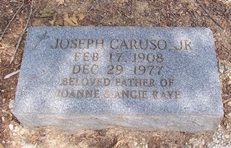 CARUSO, JOSEPH, JR - East Baton Rouge County, Louisiana   JOSEPH, JR CARUSO - Louisiana Gravestone Photos