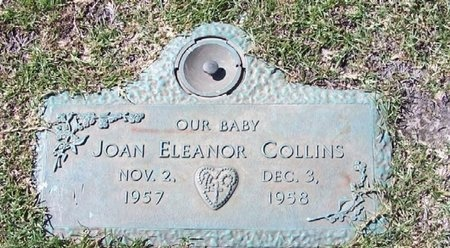 COLLINS, JOAN ELEANOR - East Baton Rouge County, Louisiana   JOAN ELEANOR COLLINS - Louisiana Gravestone Photos